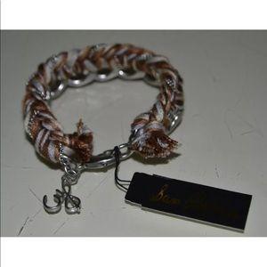 Sam Edelman On the Road Braided Chain Bracelet